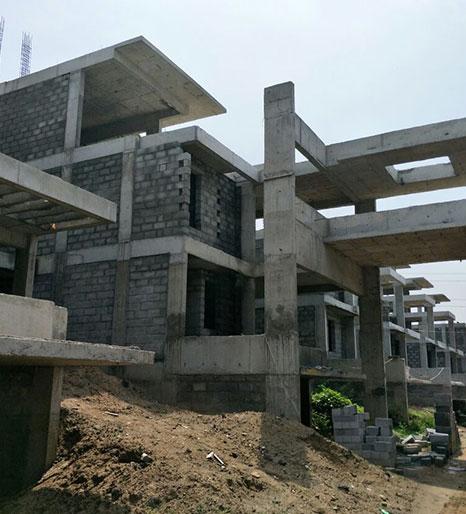 Buildmann Aaroha Cascade villas