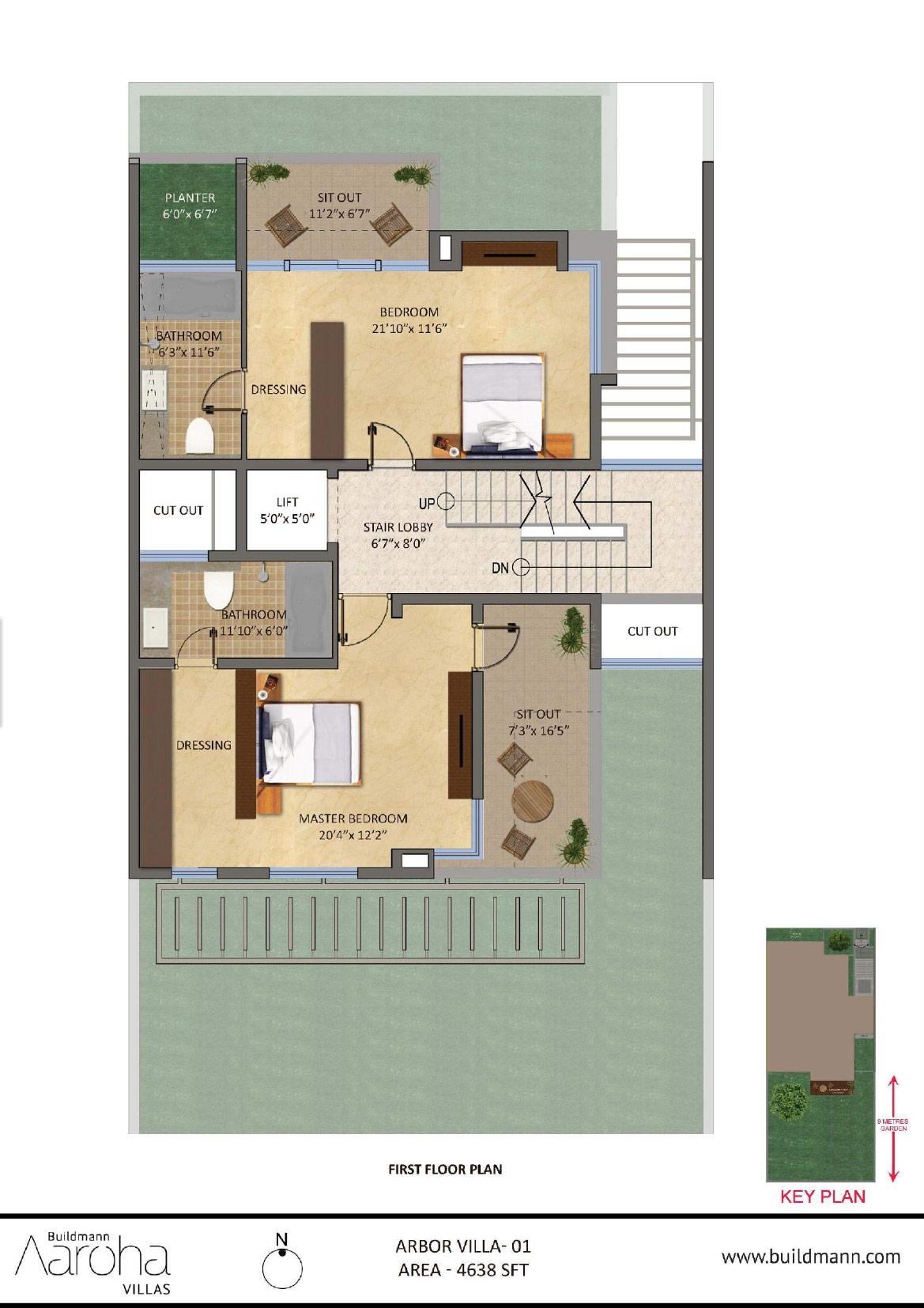 Buildmann Aaroha Arbor villas